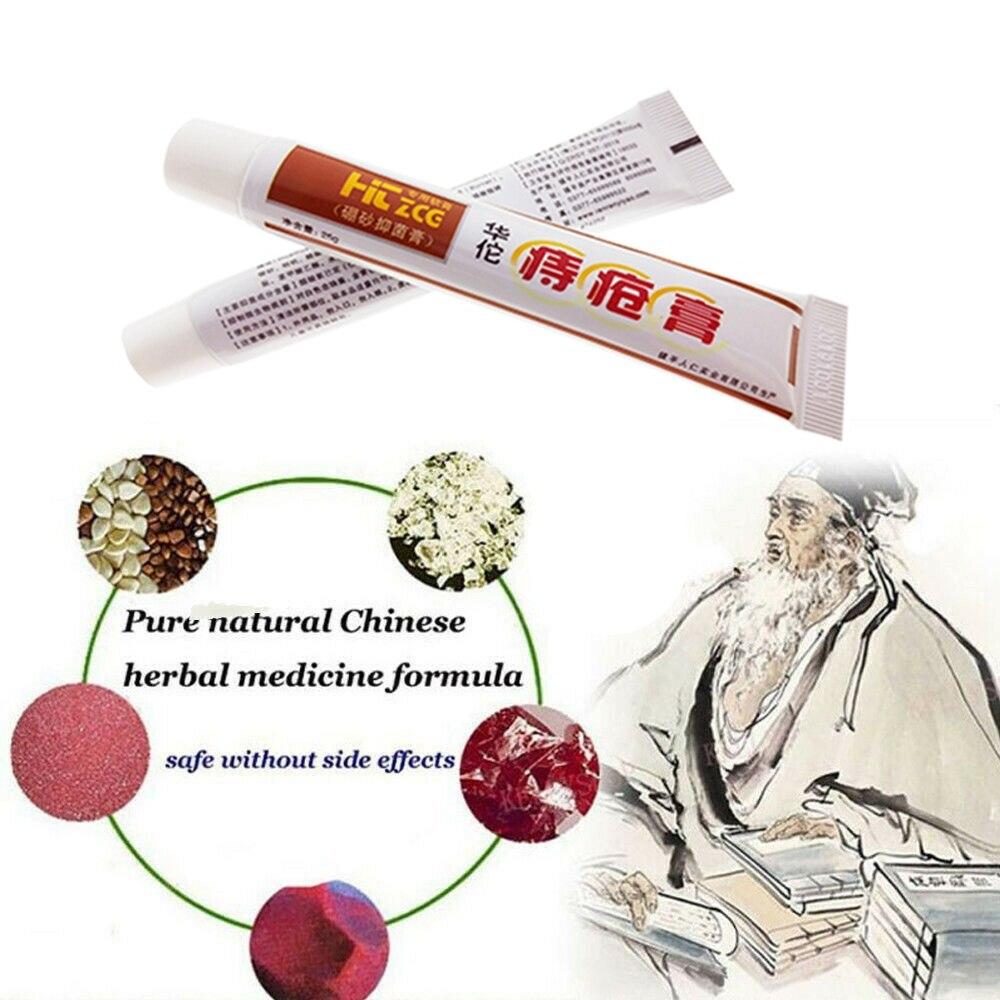 1Pcs /25g Huatuo Hemorrhoid Anus Itching Anal Fissure Bowel Bleeding Health Care Essential Oil Hemorrhoid Anti Hemorrhoid Cream