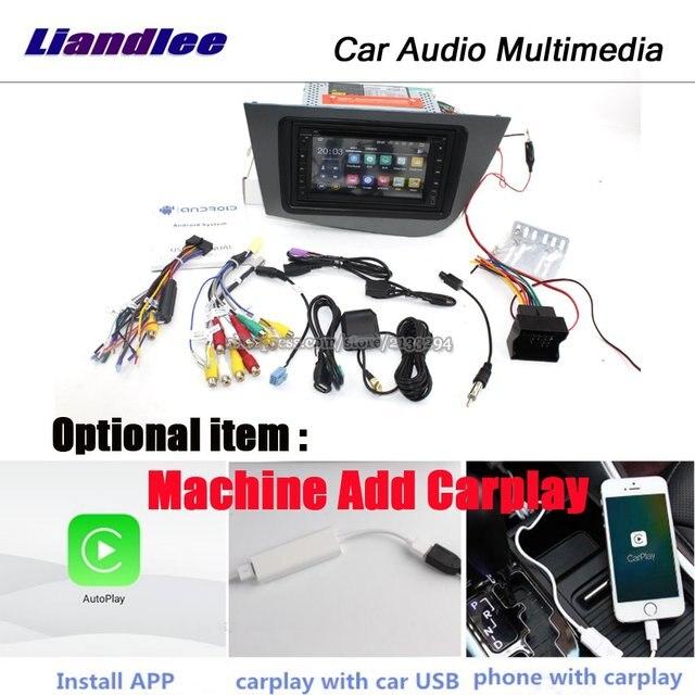 Liandlee-Android 7.1 UP pour siège Leon MK2 | 2005 ~ 2012 stéréo BT vidéo, Wifi DVD, lecteur carte Carplay GPS, Navi Navigation multimédia