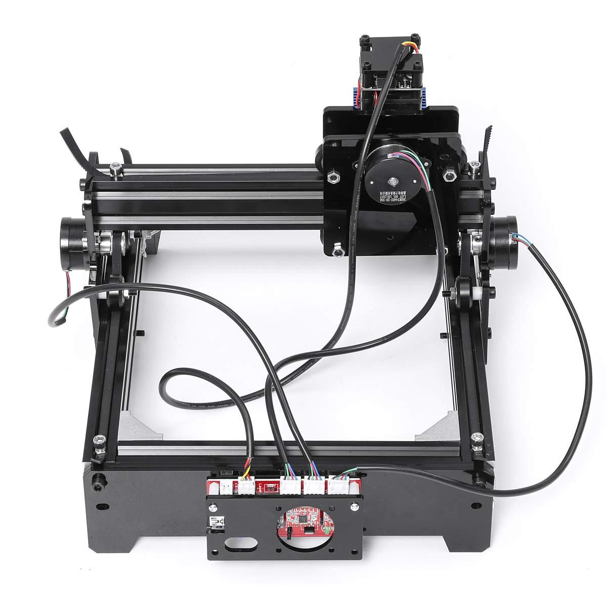 20*14CM 12W Laser Engraving Machine DC 12V Metal Marking Engraver Home DIY  Printer Cutter Support Windows 7 8 10 System