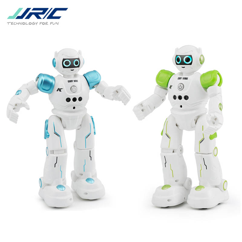 JJRC R11 CADY WIKE / R12 CADY WISO Smart RC Robot Gesture Sensing Touch Intelligent Programming Dancing Patrol Toy