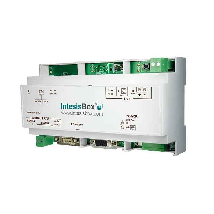 INTESISBOX MODBUS SERVER - DALI