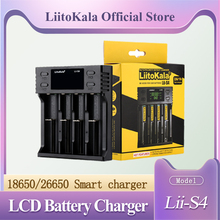 LiitoKala lii S1 lii S2 lii S4 lii S6 lii S8 Intelligent Battery Charger with Power Bank Function for Ni MH Lithium 18650 26650