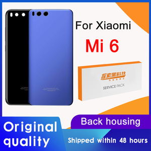 Original Back Housing Replacement for Xiaomi Mi 6 Back Cover Battery Glass For Xiaomi Mi 6 Rear cover