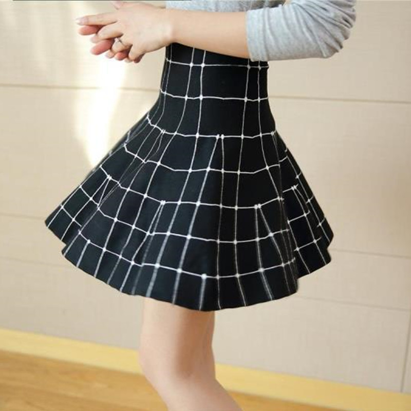Autumn Winter High Waist Knitted Skirts Korean Style Streetwear Pleated Women Skirt Casual Plus Size Mini Skirt Women Clothes