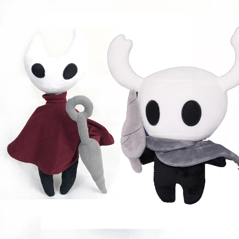 "US Game Hollow Knight Toy Figure Ghost Plush Stuffed Animals 12/"" Doll Xmas Gift"