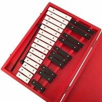 25 Nota Xilofone xilofone Brinquedos Martelo de Percussão Instrumentos Musicais Vibrafone Instrumento de Percussão de Brinquedos Educativos