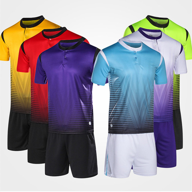 Kids Soccer Jerseys sets Surverement Football Kits Adult Men Child Futbol Training competition Sportswear suit DIY customization