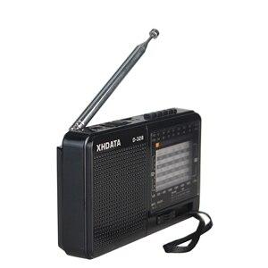 Image 3 - XHDATA D 328 FM Radio AM SW Tragbare Kurzwellen Radio Band MP3 Player Mit TF Karte Jack 4Ω/3W radio Empfänger