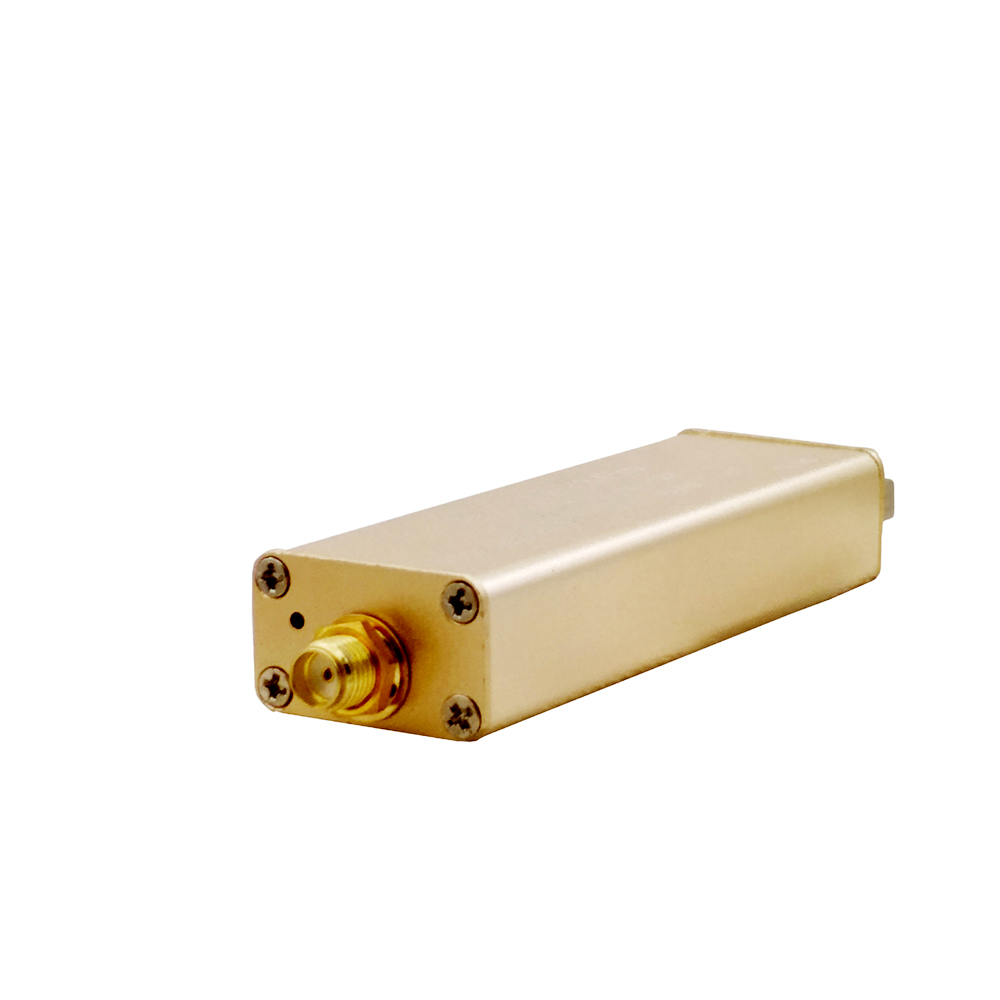 HF RTL-SDR W/ Aluminum Enclosure SMA Input RTL2832U & R820T2-Based Software Defined Radio (no Antenna)