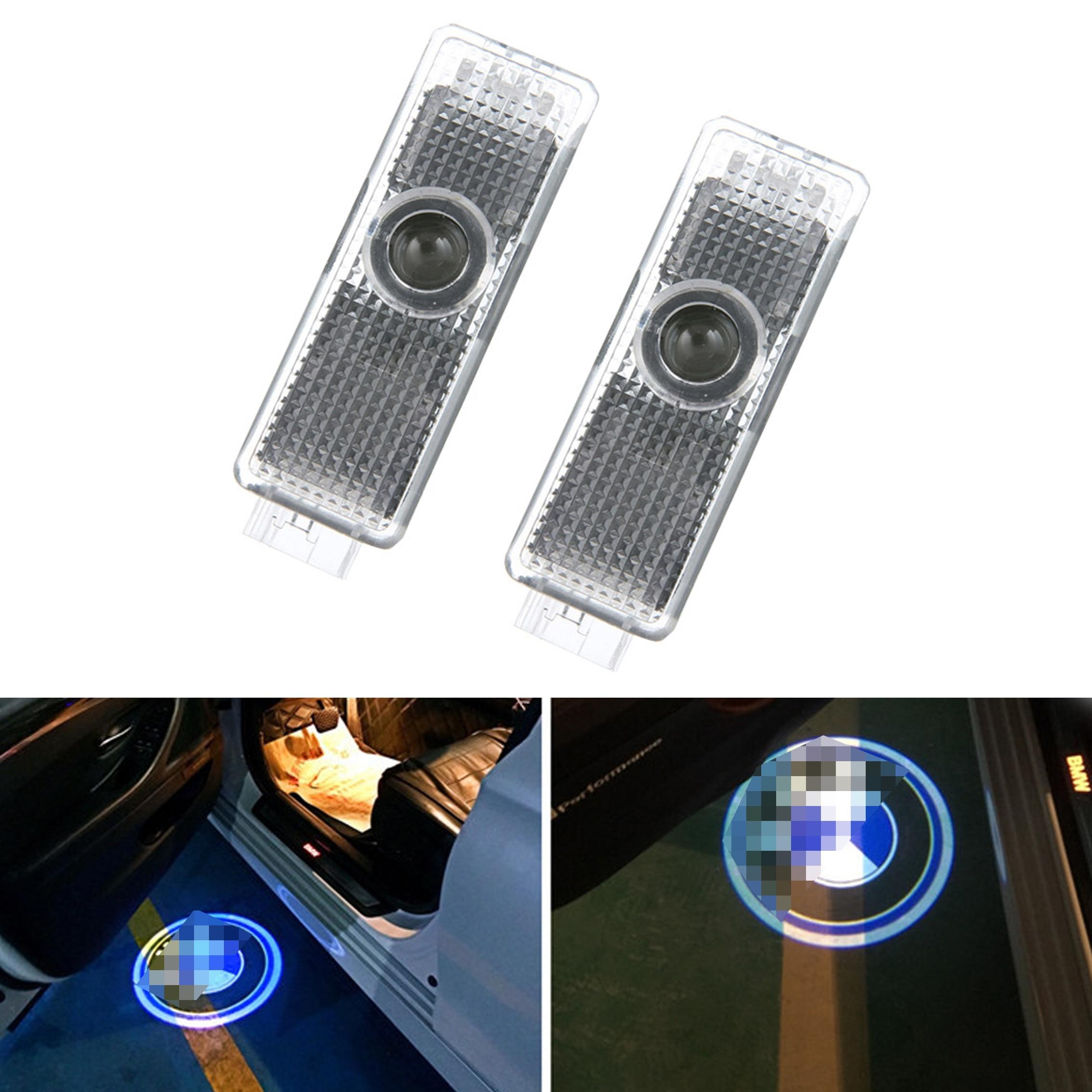 1X Car-styling For BMW E53 X5 E39 X3 E46 Car Door Light Welcome Light LED Laser Projector Lamp For BMW LOGO Decorative Lamp