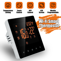 Programmable Wireless Thermostat LCD Screen Smart Digital Application Control Temperature Family Intelligence System