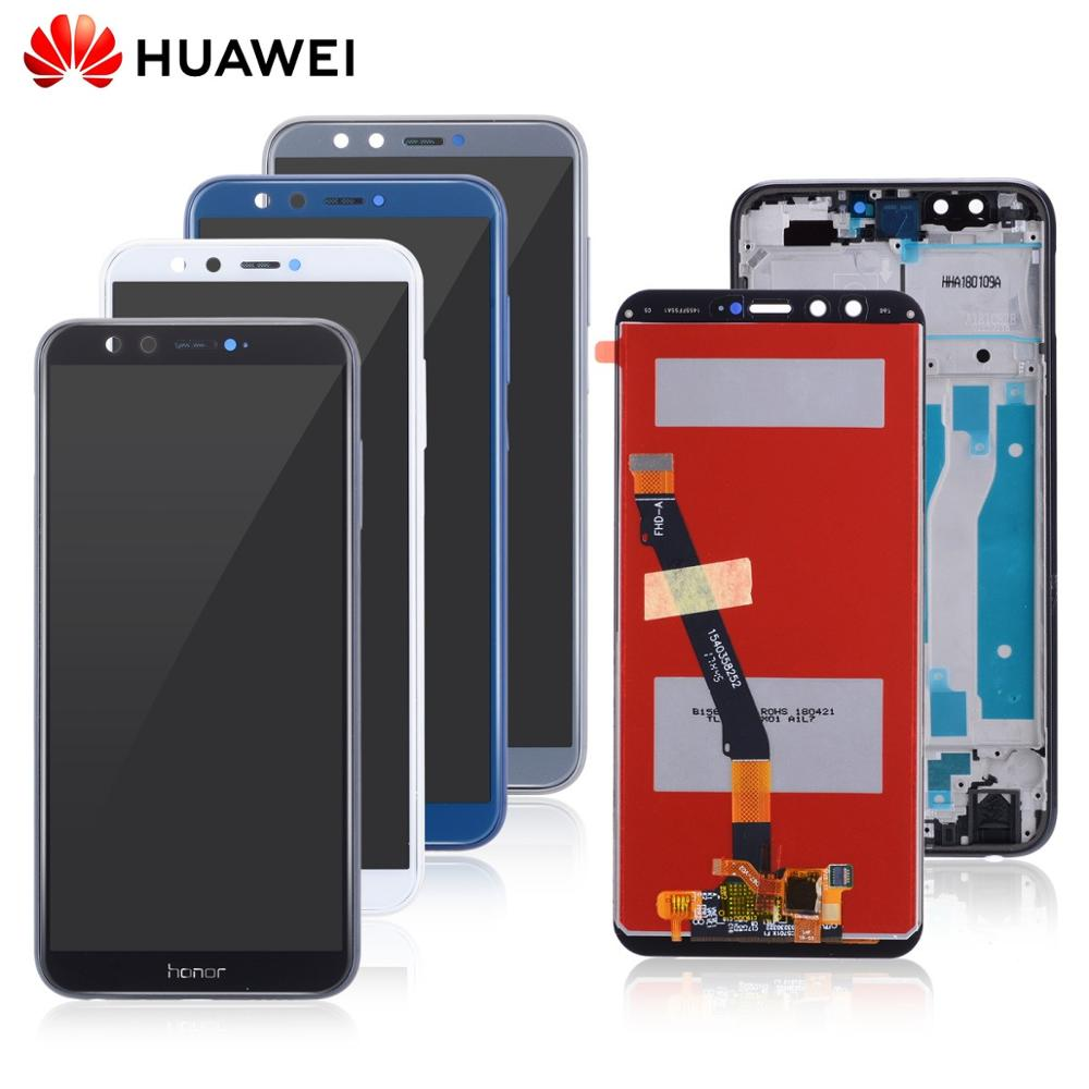 <font><b>Original</b></font> Display For Huawei <font><b>Honor</b></font> <font><b>9</b></font> <font><b>lite</b></font> LCD Touch Screen For Huawei <font><b>Honor</b></font> <font><b>9</b></font> <font><b>Lite</b></font> LCD Display with Frame Digitizer LLD-L31 image