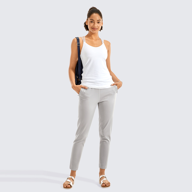 Stretch Casual Pants Drawstring Jogger