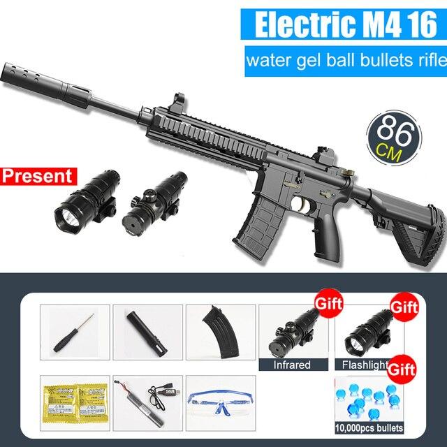 Water Gun M416 Automatic & Manual | Water Bullets Blaster 1