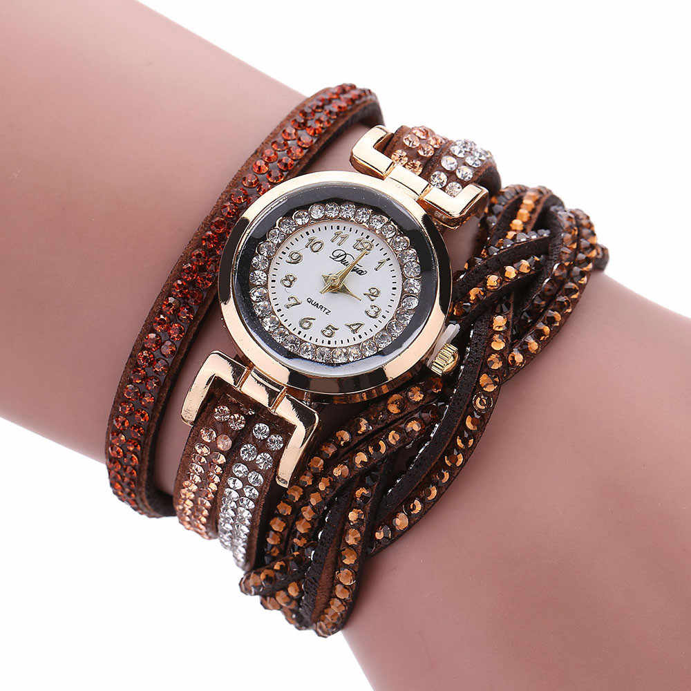 Womens Watches Quartz Watch High Qualitygold Bracelet Relogio Feminino Zegarek Damski Clock New Relojes Para Mujer Kol Saati