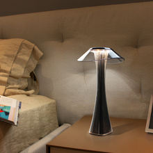 Светодиодная настольная лампа с регулируемой яркостью и защитой