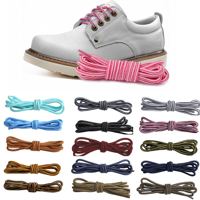 """70cm//28/"""" Shoelaces Coloured Round Bootlace Sneaker Shoe Laces Shoe Strings Run"""