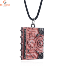 Hot Halloween Necklace Jewelry Witch Also Crazy Magic Book Hocus Pocus three sisters pendant wholesale тимур саед шах фокус pocus