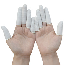 Disposable Scaler Finger Sets Cots Dental Lab Equipment About 750 Pcs /Pack Rubber Latex Gloves 100pcs protective antislip fingertips gloves latex rubber finger cots antistatic gloves workplace safety supplies
