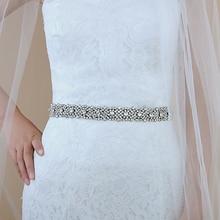 TRiXY S28B Серебряный Люкс свадебное пояс Пояс мода Ремни для женщин старинные горный хрусталь украшения