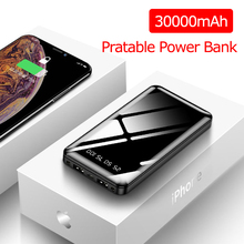 30000mAh Power Bank Portable Charging Powerbank Poverbank Ex