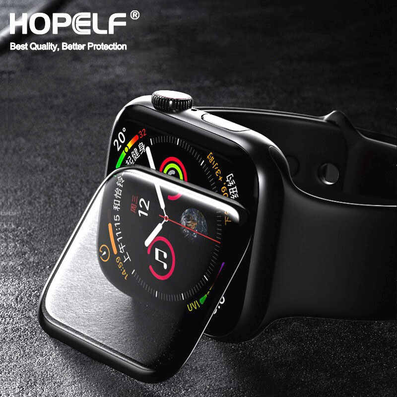 3D HD vidrio templado para Apple Watch protector de pantalla Serie 3 2 1 42MM 38MM vidrio para Apple Watch cristal iwatch 5 4 44MM IWatch