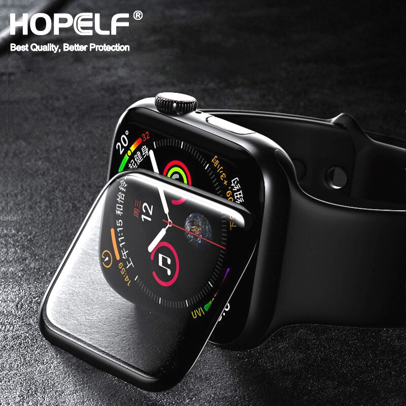 3D HD Tempered Glass For Apple Watch Screen Protector Series 3 2 1 42MM 38MM Glass For Apple Watch Glass Iwatch 5 4 44MM IWatch