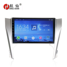 Bway 10.1 2 din Car radio for Toyota Camry 2012-2014 Quadcore Android 7.0.1 car dvd player gps navi with 1 G RAM,16G ROM hactivol 2 din car radio face plate frame for toyota camry 2012 car dvd player gps navi panel dash mount kit car accessories