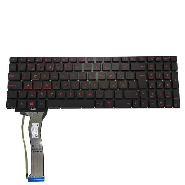 клавиатура с подсветкой ovy po для asus rog gl552 gl552jx gl552vl фотография