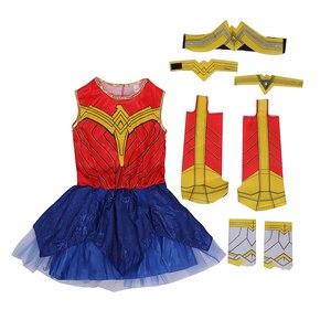 Image 4 - Deluxe Kind Dawn Van Justice Wonder Vrouw Kostuum
