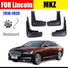 FOR Lincoln MKZ Mudguard Fenders MKZ Mudflap splash Guard Mud flaps Mudguard Fender auto styline car accessories Front Rear 4pcs for ford kuga mudguards fender kuga mud flaps splash guard mudflap fenders mudguard car accessories auto styline front rrar 4pcs