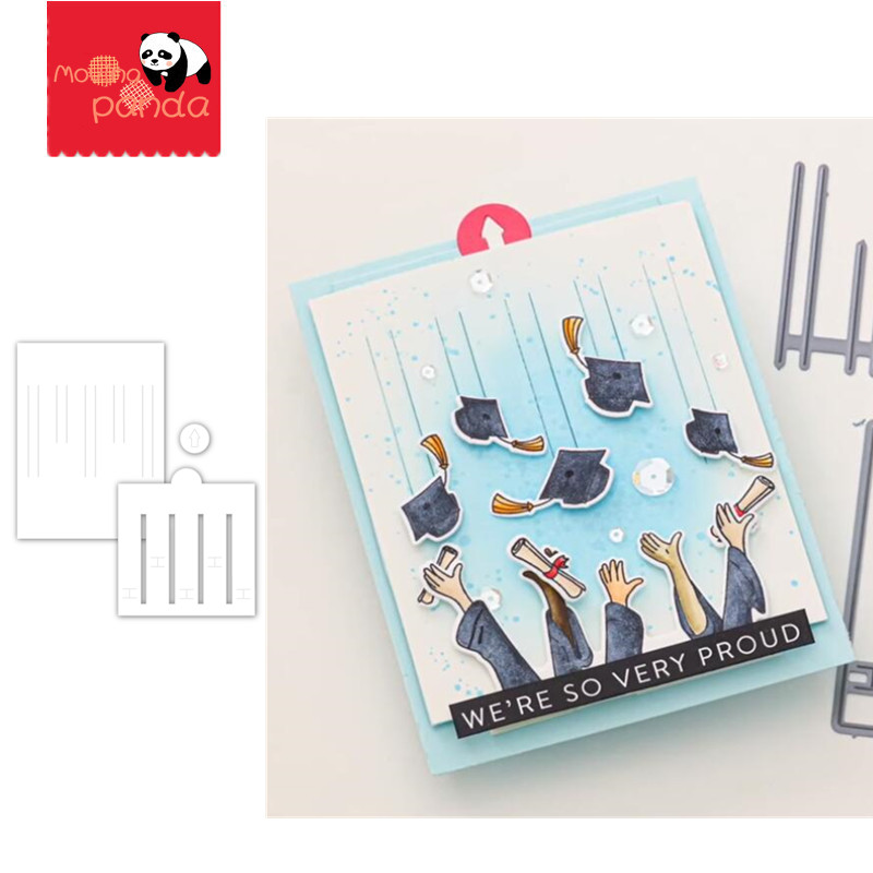 Pochoirs du bricolage Scrapbooking | Matrice de découpe en métal, curseur pour album photo, cartes de gaufrage décoratives en papier, manuels