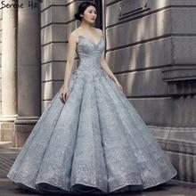 Yeni uzun arapça dantel balo abiyesi örgün akşam balo elbisesi elbise parti nişan elbiseler Vestido De Festa Abendkleider 2020