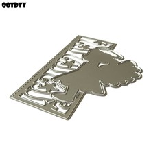 Angel Metal Cutting Dies 2020 Stencil Scrapbooking DIY Album Stamp Paper Card Embossing Decor Handmade Arts Crafts(China)