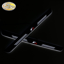 For SEAT LEON ARONA ATECA IBIZA FR LED Door Sill Scuff Plate Pedal Dynamic Welcome Door Lights Car Sticker Trim Car Styling