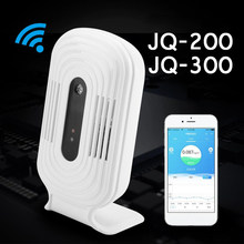 JQ-200/JQ-300 Intelligent WIFI Home Smog Meter CO2 HCHO Air Quality Analysis Tester Detector Sensor Temperature Humidity Monitor(China)