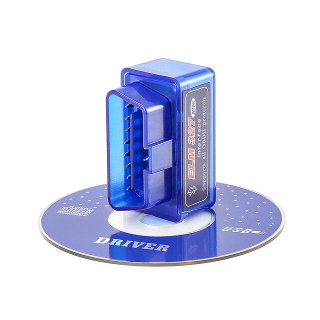 OBD2 V1.5 Elm327 Bluetooth V 1.5 OBD 2 Elm 327 Voiture Outil de Diagnostic Scanner Elm-327 OBDII Adaptateur Super Mini Outil De Diagnostic Automatique 5