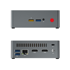 Image 3 - beelink J34 CPU J3455 genuine windows10 mini pc 8GB SSD 128GB dual wifi bluetooth 4.0 support 2.5 HDD 1000M lan USB3.0 pocket pc