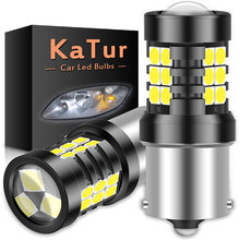 2pcs 1200Lm 1156 P21W BA15S LED Canbus bulbs 21SMD 3030 Led Backup Reverse Lights For Skoda Superb Octavia 2 FL 2010 2011 2012