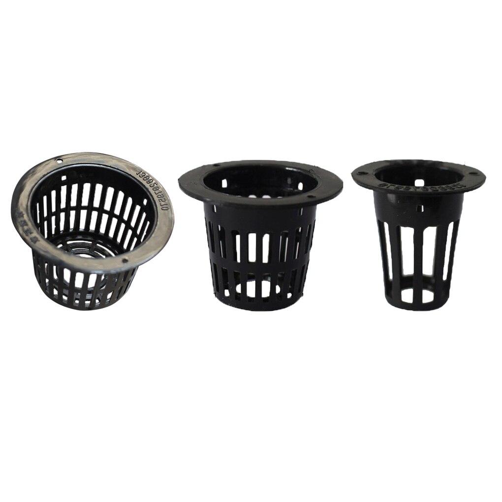 10pcs/set Hydroponic Plant Mesh Pot Flower Planting Container Aeroponic Plant Grow Cup Soilless Cultivation Basket