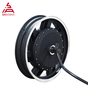 QS 17inch 4kW 273 40H V3 Brushless BLDC Electric Scooter Motorcycle in-wheel Hub Motor with kits