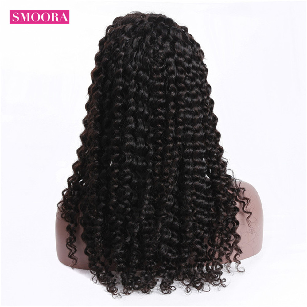 360 Lace Front  Wigs  Deep Wave Free Part  Wigs 360 Lace Frontal Wig PrePlucked With Baby Hair  4
