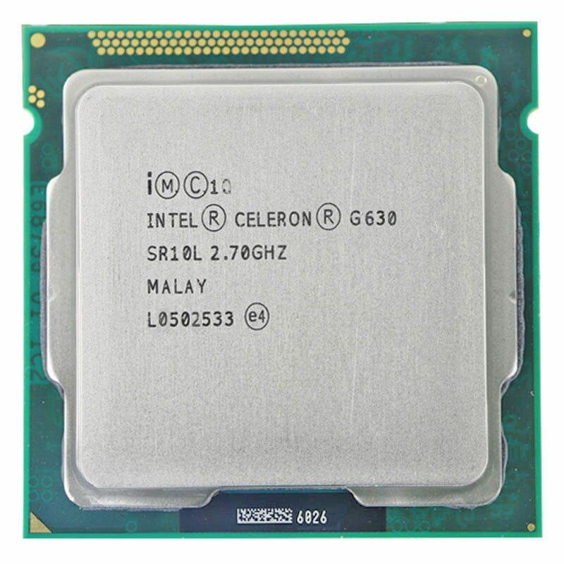 INTEL Pentium CPU 2.7GHz 3 G630 M Dual Core Soquete LGA1155 65W CPU PENTIUM