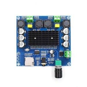 Image 4 - Kyyslb dc12 ~ 30 v 100 w * 2.05.0 bluetooth 증폭기 보드 tda7498 XH A105 디지털 증폭기 보드 지원 aux 온보드 전위차계