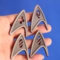 Film Star Trek Starfleet Brosche Überzogene Pins Abzeichen Handgemachte Kostüm Revers Pin Brosche Befehl Insignia(5 Arten)