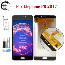 LCD For Elephone P8 2017 Full LCD Display Screen Touch Panel Digitizer Assembly Replacement For Elephone P82017 Display 5.5 inch