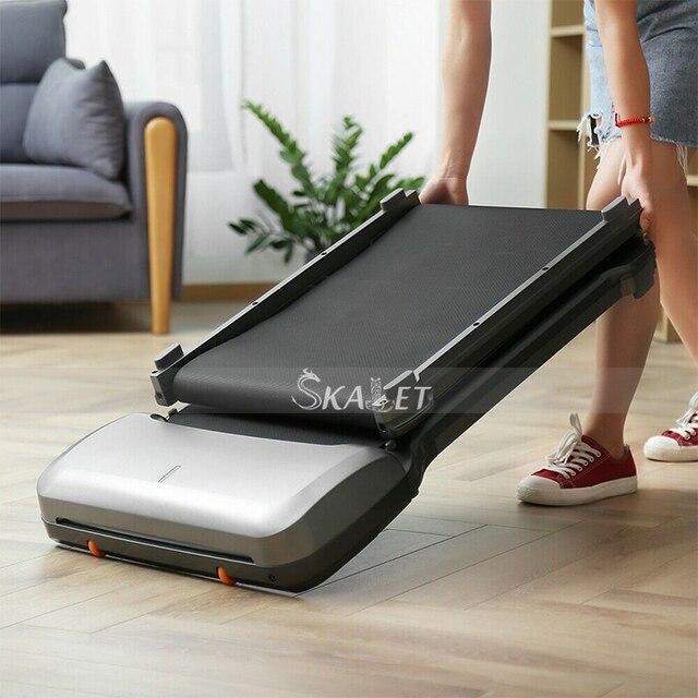 شاومي WalkingPad c1fold تشغيل التدريب التواء آلة الجلوس المنبثقة الاتصال الهاتفي الصالة الرياضية الرئيسية ممارسة معدات اللياقة البدنية