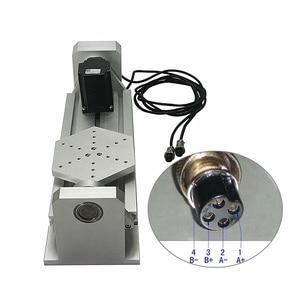 Image 2 - Axe rotatif daxe de CNC 4th 5th pour le routeur de CNC un Type de plat daxe avec la Machine de gravure de Miling de CNC de travail du bois de moteur pas à pas de Nema23
