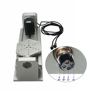 Image 2 - CNC 4th 5th Axis Rotary Axis For CNC Router A Axis Plate Type With Nema23 Stepper Motor Woodworking CNC Miling Engraving Machine