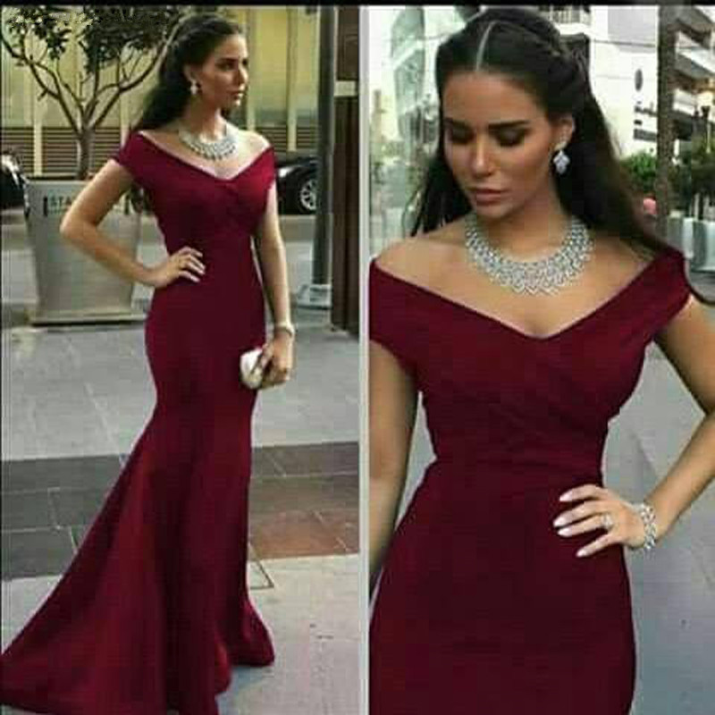 2020 Off Shoulder Mermaid Long Bridesmaid Dresses Royal Blue Backless Maid Of Honor Wedding Guest Party Gowns prom dresses